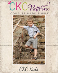 Leo's Suspender Shorts PDF Pattern
