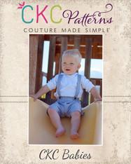 Leo's Baby Suspender Shorts PDF Pattern