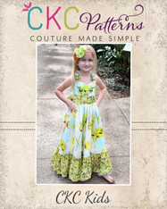 Peony's Sweetheart Maxi Dress PDF Pattern