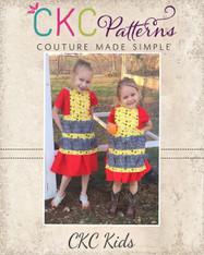 Gertrude's Gathering Apron & Dress PDF Pattern