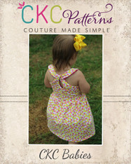 Lynlee's Baby Top and Dress PDF Pattern
