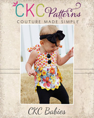Julissa's Baby Top and Tunic PDF Pattern