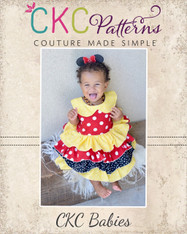 Blanche's Babies Frilly Top and Dress PDF Pattern