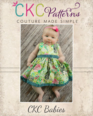 Celeste's Babies Classic Boat Neck Dress and Top PDF Pattern