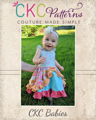 Sarafina's Babies  Fitted Party Dress PDF Pattern