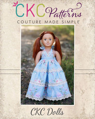 Briar's Beautiful Top, Dress, Maxi and Romper Doll Sizes PDF Pattern