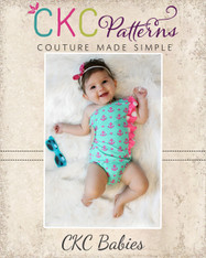 Yeal's Baby Unique One Shoulder Swimsuit PDF Pattern