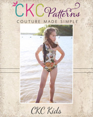 Yeal's Unique One Shoulder Swimsuit PDF Pattern