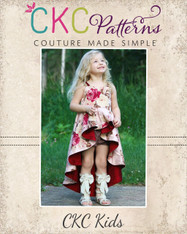 Adileen's Cascading Dress and Tunic Sizes 2T to 14 Girls PDF Pattern