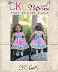 Avonlea's Amazing Dress Doll Sizes PDF Pattern