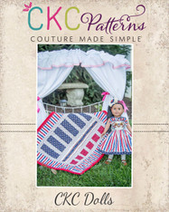 Saraya's Stripwork Doll Quilt Top PDF Pattern