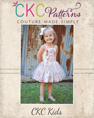 Tayana's Tulle Dress PDF Pattern