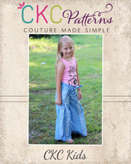 Willa's Wrap Shorts, Capris, and Pants PDF Pattern
