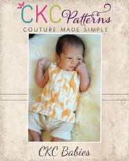 Daniel's Babies Reversible Woven Tank Top PDF Pattern
