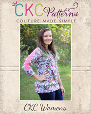 Laurel's Women's Lace Raglan PDF Pattern
