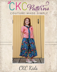 Whitley's Wide Leg Capris & Pants PDF Pattern