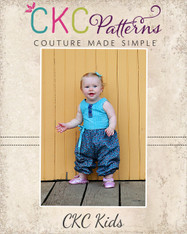 Berkley's Baby Beautiful Pleated Dress and Romper PDF Pattern
