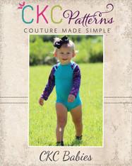 Wanda's Baby Raglan Bodysuit PDF Pattern
