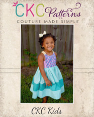 Bay's Braided Back Sundress PDF Pattern