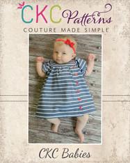 Bellisa's Baby Button Up Dress PDF Pattern