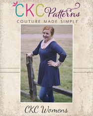 Kamry's Women Cowl Neck Dress and Top PDF Pattern