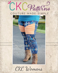 Jayda's Women's Moto Leggings PDF Pattern