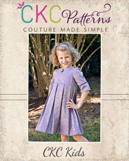 Pepper's Pleated Vintage Dress PDF Pattern