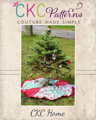 Claus' Christmas Tree Skirt PDF Pattern