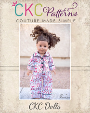 Orion's Pajama Set Doll Size PDF Pattern