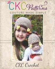 Tommy Turkey Crochet Hat PDF Pattern