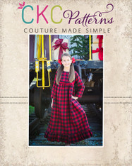Estella's Flannel Nightgown PDF Pattern