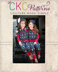 Aries' Two Piece Knit Pajamas PDF Pattern