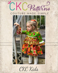 Maraya's Ruffled Top and Dress PDF Pattern