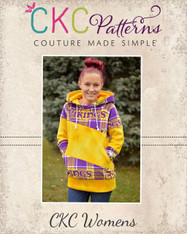Zita's Women's Color Block Raglan PDF Pattern
