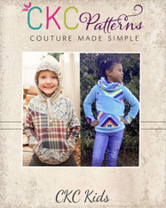 Zita's Kids Color Block Raglan PDF Pattern