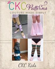 Lydia's Leg Warmers PDF Pattern