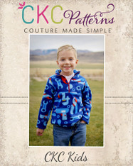 Lucas' Half-Zip Sweatshirt PDF Pattern