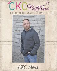 Lucas' Mens Half-Zip Sweatshirt PDF Pattern