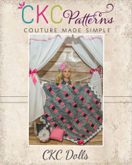 Faye's Fantastic Stacked Quilt Top Doll Sizes PDF Pattern