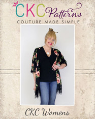 Kendra's Women's Kimono PDF Pattern