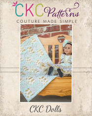 Rhea's Rail Fence Quilt Top Doll Sizes PDF Pattern