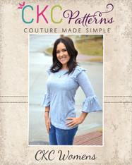 Nelda's Women's Knit Dress and Top PDF Pattern