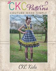 Loretta's Tweens V-Neck Ruffle Top, Dress and Maxi PDF Pattern