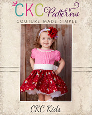 Frances' Pleated Dress PDF Pattern