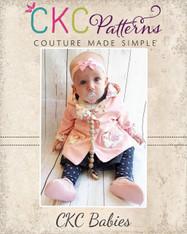 Arianna's Babies Reversible Jacket PDF Pattern