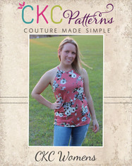Kaitlyn's Women's Tank Top and Dress PDF Pattern