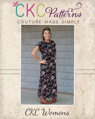 Dana's Dolman Top, Dress, and Maxi PDF Pattern