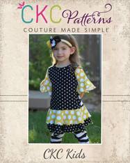 Tessa's Knit T-Shirt and Dress PDF Pattern