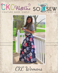The Coffee Break Maxi Skirt PDF Pattern