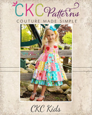 Tiffany's Sweetheart Patchwork Dress PDF Pattern